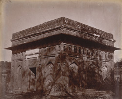Unidentified tomb, near the Khairpur Masjid, Delhi [sic. Tomb of Jamali Kanali]